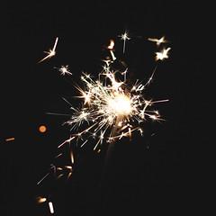 Sparklers (1) (photolyria) Tags: sparkler fire sylvester fireworks