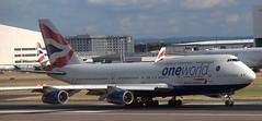 Boeing 747-436 G-CIVI (707-348C) Tags: london heathrow lhr egll britishairways baw boeing airliner jetliner passenger gcivi b744 boeing747 specialcolours oneworld