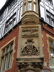 Grosvenor Hotel Chester IMG_1498 (rowchester) Tags: coat arms grosvenor hotel chester carving stone sandstone