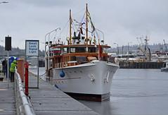 2418_MV Olympus (lg evans Maritime Images) Tags: ©lgevans lgevans lge maritimeimages mvolympus motorvesselolympus flotilla floatilla hirammchittendenlocks farewell goodbye cya classicyachtassociation