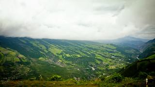 Les pentes verdoyantes du redoutable Tungurahua