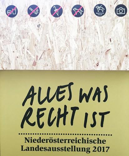 Ausstellungsgesetzgebung #Landesausstellung #Niederösterreich