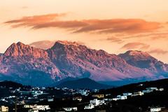 La chaine montagneuse RIF - Maroc (Bouhsina Photography) Tags: sunset tétouan tanger maroc bouhsina bouhsinaphotography nuage orange rouge silhouette ombre brillant canon 7dii 70200