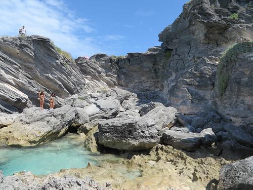 Horseshoe Beach rocks