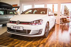 Volkswagen golf MK7 GTI (Listers Group) Tags: audi listers german volkswagen dasauto rs s3 a3 golf gti javagreen badge grille showroom led bright vibrant luxury volkswagenappletv dealership automotive cars