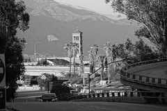 St. Andrew's Tower (thejuiceman) Tags: california bw tower church st andrews sony pasadena a77ii a77m2