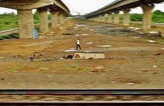 Keep Walking (seeveeaar) Tags: from india man train walking shot taken keep chennai panning tamilnadu vandalur nemilichery