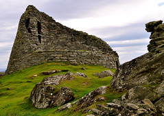 the broch carloway isle of lewis (plot19) Tags: old uk building green grass stone island scotland britain lewis western outer isle isles hebrides broch carloway