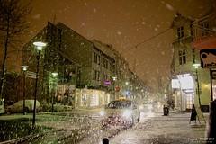 Laugavegur Main Shopping Street @ Reykjavik (YanShots) Tags: travel iceland snowing sigma1770mmf284 canon550d