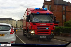 Scania P230 Glasgow 204 (seifracing) Tags: seifracing scotland spotting strathclyde scottish services scania ecosse emergency service rescue recovery europe transport national britain brigade british sf05ddj
