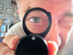 71-365 (Year 8) I-Spy with my little eye … (♔ Georgie R) Tags: lens magnifyingglass explore werehere hereio