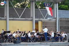 Army Ground Forces Band at Fayetteville NC Festival Park (faytodaynews) Tags: army nc band fayetteville fortbragg groundforces