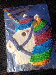 Unicorn cake by Amber, Triad Area, NC, www.birthdaycakes4free.com