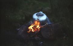 (Bazzerio) Tags: travel camping food skye film 35mm fire scotland adventure kettle foodporn porn exploredreamdiscover bazzerio campvibes