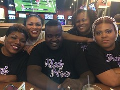 Made New at BW3'S after Glass City performance.