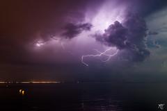 Orage sur la Camargue 13 juin 2014 (MarKus Fotos) Tags: mer storm bolt thunderstorm lightning thunder orage mditerrane foudre