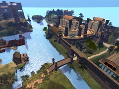 calchester_overview11jul2014_002 (AlexinaProctor) Tags: virtualworlds terraforming kitely