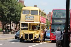 Arriva London RM6 (VLT 6) (SelmerOrSelnec) Tags: london rally routemaster preserved manorhouse parkroyal londontransport aec rm6 vlt6 arrivalondon rm60event