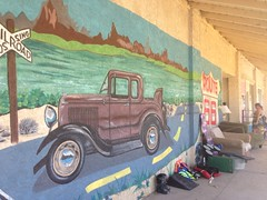 Route 66 mural in Needles (JJP in CRW) Tags: california route66 murals needles