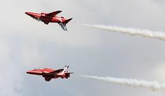 Red Arrows at Waddington Airshow 2014 (SteveH1972) Tags: red canon hawk aviation lincolnshire airshow arrows redarrows waddington 2014 600d