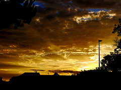 photo - Another Alameda Sunset (Jassy-50) Tags: photo alameda california sunset sky clouds urbansun