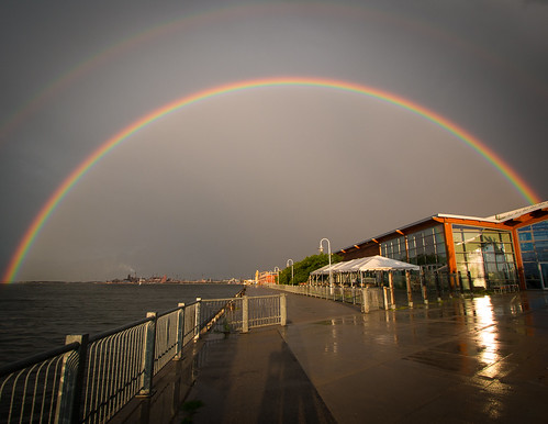 Double Rainbow over Discovery Centre