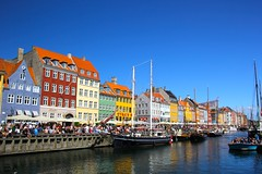 Copenhagen, Denmark (r33m1x) Tags: colour copenhagen river denmark ships canals colourfulbuildings