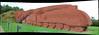 Brick streak (beqi) Tags: panorama brick architecture train stonework arts steam darlington artdeco photoshoppery 2014 streamlinemoderne gresley classa4