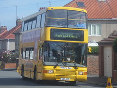 3819 S819 OFT Go North East Yellow Bus Volvo Olympian Palatine  2 on the