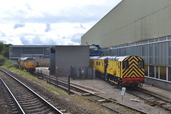 Network Rail Class 08 Shunter 08417 (Will Swain) Tags: uk travel england london station st speed train manchester high britain derbyshire transport rail railway piccadilly august trains class east network greater 16th pancras derby 08 midlands hst 2014 shunter 0845 08417 1z18