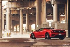 Ferrari 360 Modena / B-Forged Wheels (jeremycliff) Tags: cliff chicago illinois italian downtown jeremy ferrari exotic supercar ferrari360modena jeremycliff jeremycliffcom jeremycliffphotography chicagoautomotivephotographer chicagoautomotivephotography bforged bforgedwheels