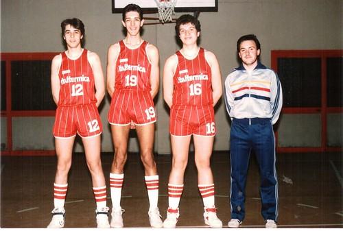 Alloj - Torelli - Cavallero, coach Doglioli. 1986-87