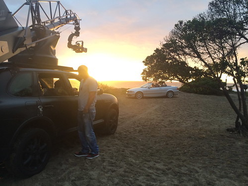 Tire Rack Shoot in Malibu.  Darrin has a chat.