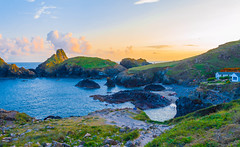 Kynance Cove, Cornwall (JackPeasePhotography) Tags: sunset beach beautiful clouds landscape big nikon cornwall cove august dslr lanscapes d3200