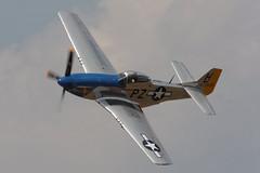 "P-51 ""MUSTANG"" (car_plane_train_guy) Tags: michigan wwii airshow b17 ww2 lightning thunderbirds dc3 warbirds warbird c47 p51 f86 p51mustang p38 thunderovermichigan b25bomber p63 yankeelady b17flyingfortress wwiireenactment c54skymaster p63kingcobra wwiiww2warbirds sabref86sabre"