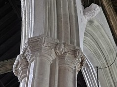Suffolk, Bildeston (jmc4 - Church Explorer) Tags: church suffolk capital column caring piller bildeston