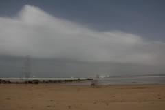Ghosts of the beach - Polyme's (M Yasir B.) Tags: longexposure sky beach night clouds sand rocks waves ghosts breakwater gadani balochistan supermoon unseenbalochistan