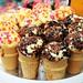 Delicious ice-cream cone cakes
