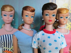 (5) Swirl Ponytail Barbie Collection (Foxy Belle) Tags: summer vintage necklace doll dress barbie swirl ponytail earrings safe mattel