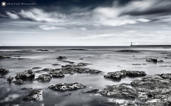 Light Tower IV, Seaburn (Silent Eagle  Photography) Tags: light sea seascape tower clouds canon rocks long exposure lee sep filters seaburn bigstopper silenteaglephotography silenteagle09