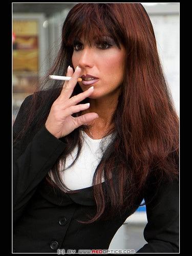smoking gent Stella van