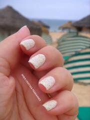 Pirilampo na Praia ..... (^-^) (Dora Cristina Fernandes) Tags: glitter nagellack nails sprinkles manicure nailpolish fofo nailart clich naillacquer yellownailpolish unhasdecoradas unhasartsticas artisticnails esmalteamarelo liquidsand vernizamarelo