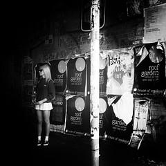 Woman with Skirt (kohlmann.sascha) Tags: street people blackandwhite bw woman blancoynegro monochrome sunglasses rock hair poster glasses donna clothing dress noiretblanc femme mulher streetphotography skirt menschen advertisement clothes blond jupe monochrom brille frau eyeglasses schwarzweiss miniskirt youngwoman plakat gonna placard sonnenbrille biancoenero saia cartellonepubblicitario haare mensch kleidung haar minirock 裙子 女人 宣传画 cartelpublicitario jungefrau bekleidung jeunefemme 女子 schwarzweis werbeplakat minigonna lafalda minijupe 裙 宣传海报 超短裙 affichepublicitaire streetfotografie laseñora carteldepublicidad strasenfotografie lapollera laminifalda же́нщина ю́бка рекла́мнаярастя́жка рекла́мныйплака́т рекла́мныйщит фра́у ми́нию́бка