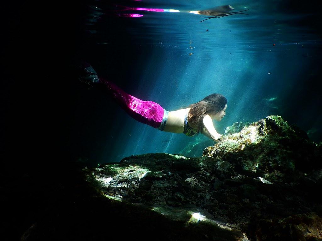 Le mermaid fitness, nouveau sport venu des US