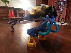 Lego Submarine Exo Suit - CRAB Mk I - (Veldranester) Tags: robot aqua lego marin crab submarine suit bionicle meca sous crabe exo aquatique