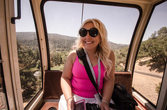TAKE ME TO THE WINE!!! #turndownforwhat (m01229) Tags: california vacation vineyard unitedstates wine calistoga wideangle winery theresa napavalley sterlingvineyards gondola winecountry d7000 nikon1024mm august2014