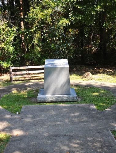 Britton Hill summit marker