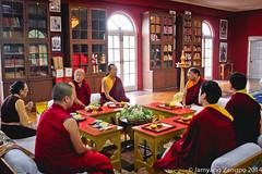 H.H. Sakya Trizin in Khyentse Labrang, Bir. 2014 (jamyang190) Tags: india buddha buddhist indian buddhism tibet monks pooja lama ritual tibetan himachal puja bir rinpoche himachalpradesh  sakya tibetanbuddhism vajrayana    whitetara tibetanbuddhist   drupchen drubchen sakyatrizin    dzongsarkhyentserinpoche     sakyapa    orgyentobgyalrinpoche   chokingrinpoche        chimephakmenyingtik