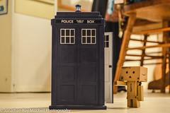 Opening The Blue Box (JonathanRayMitchellPhotography) Tags: toys nikon tardis danbo