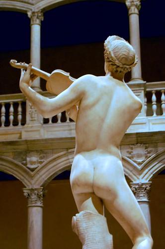 Cristoforo Stati aka Cristofano da Bracciano (1556-1619) - Orpheus (c1600) back, colour and contrast adjusted